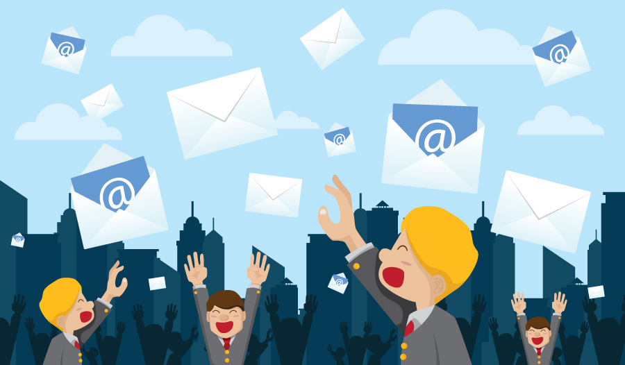 After you publish a blog post: Send out a newsletter