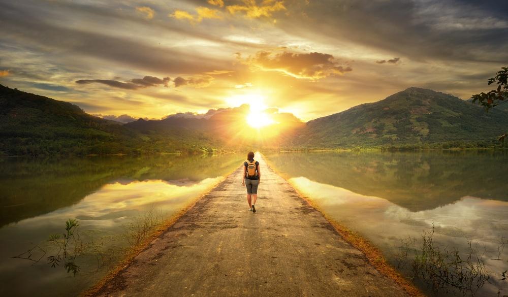 Life coach marketing walk
