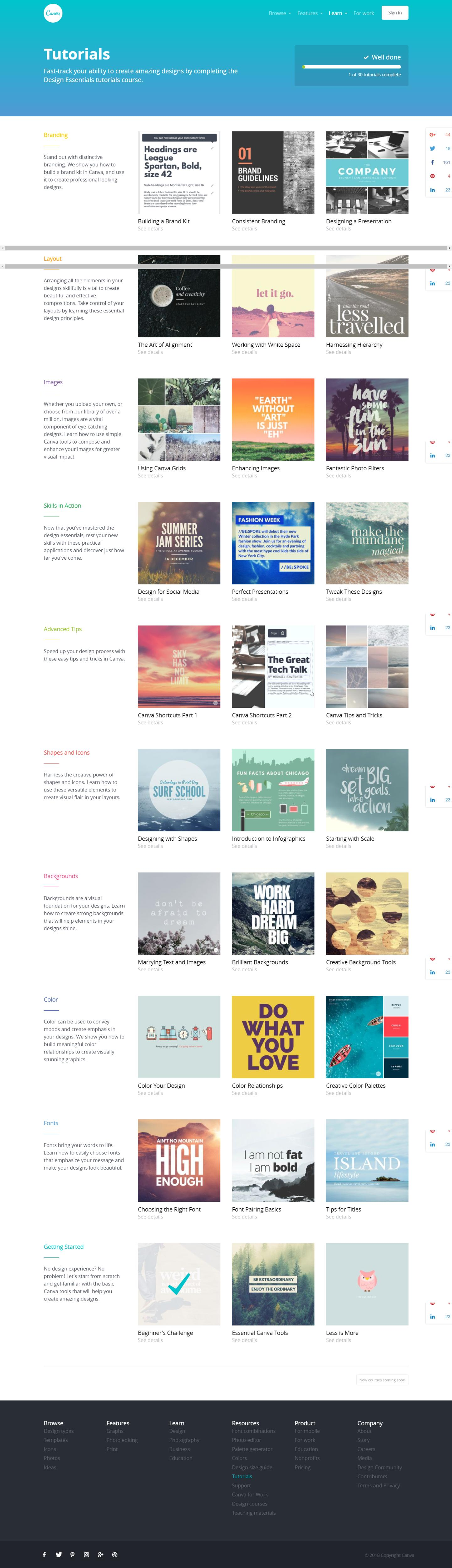 Graphic Design Tutorials By Canva