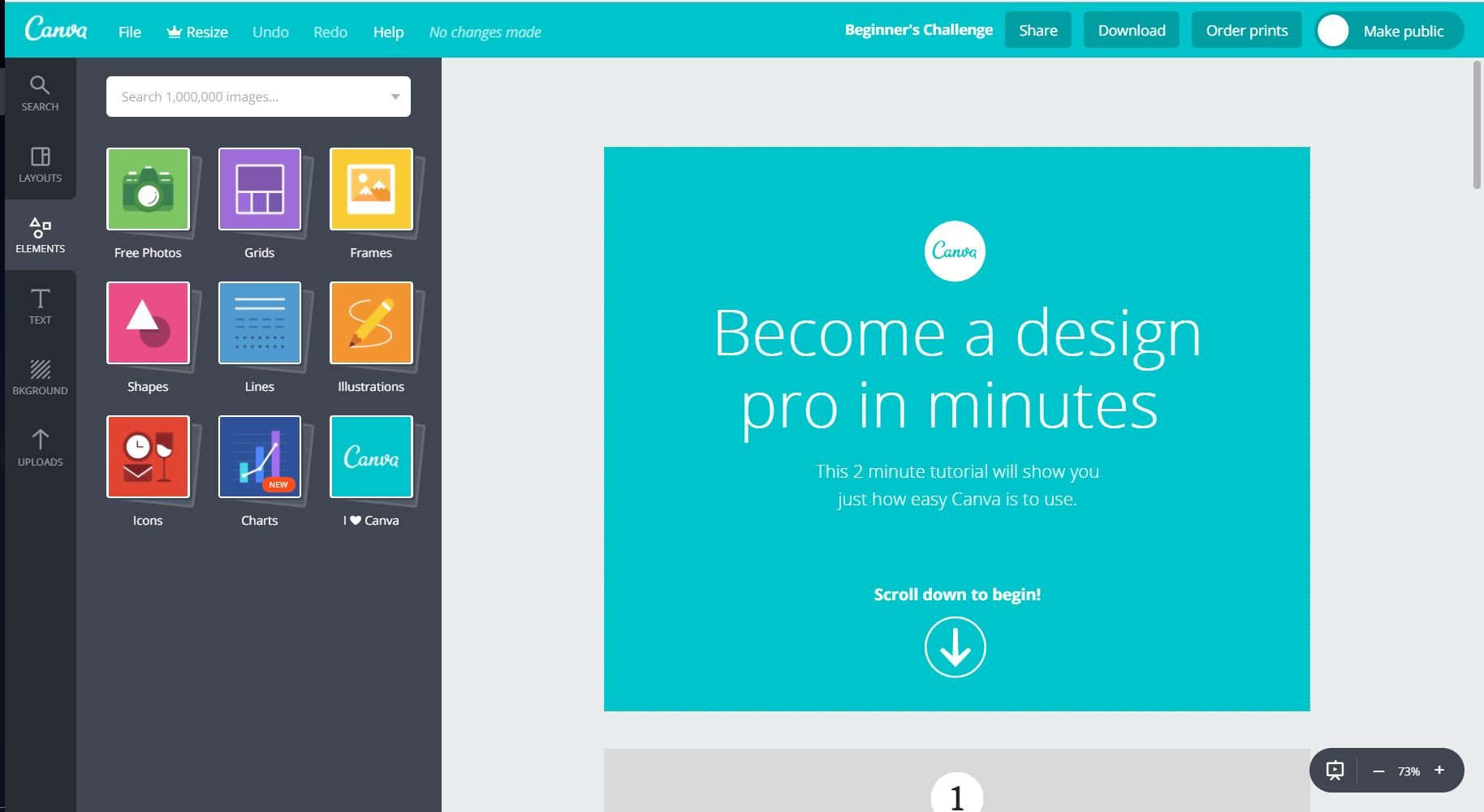 design pro in two minutes